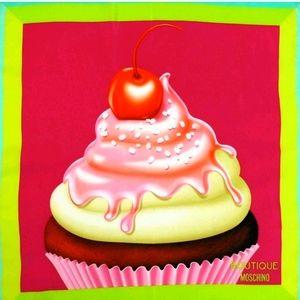 Moschino Cupcake Square Scarf